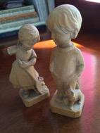 Broken arm figurine