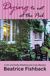 Dying to Eat at the Pub Book Cover